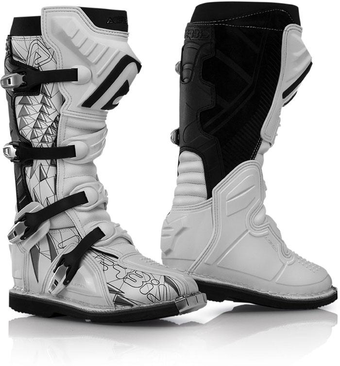 Cross Acerbis Boots Black White Shark