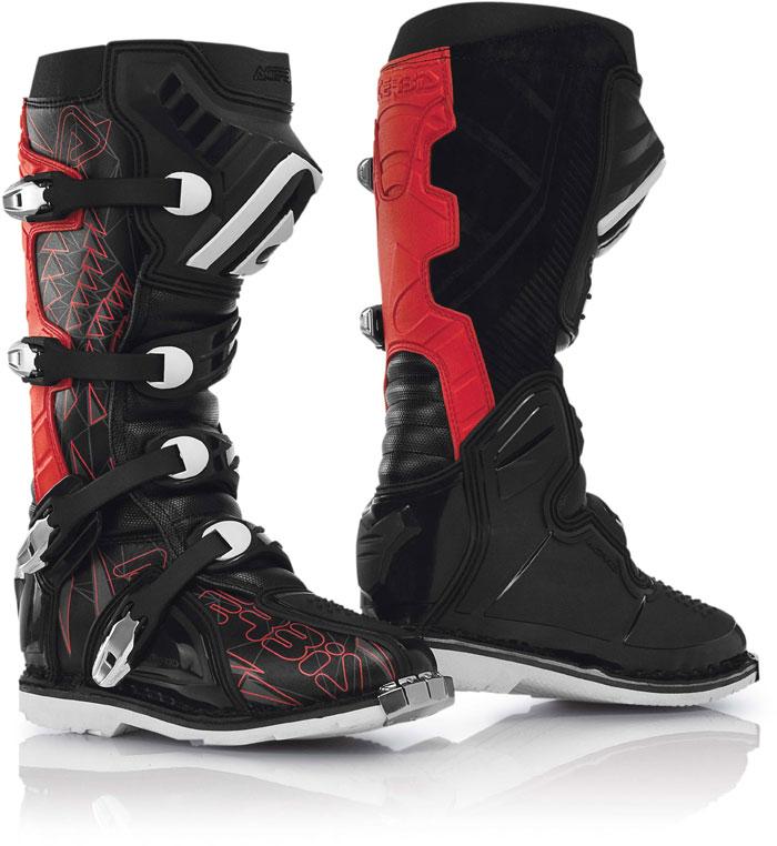 Boots Acerbis cross Shark Black Red