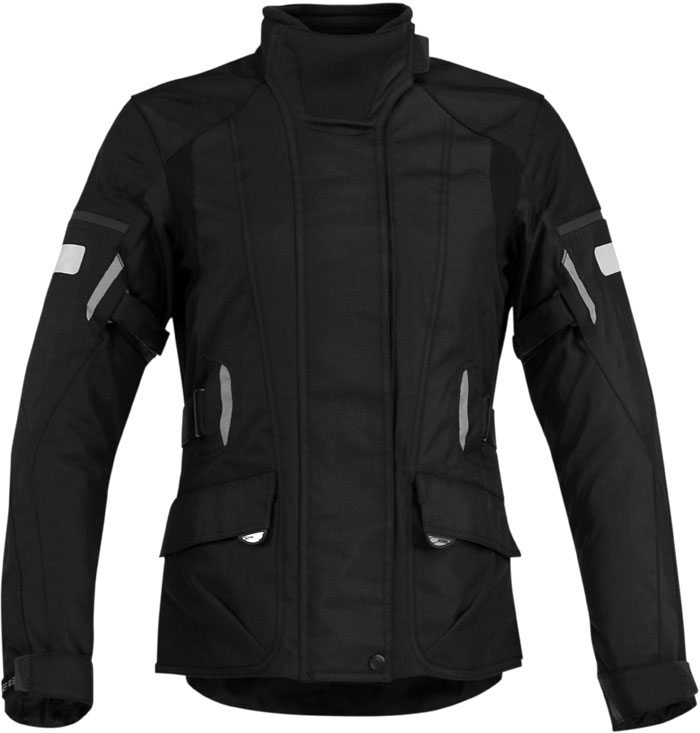 Motorcycle jacket woman Acerbis Triskele Black Lady