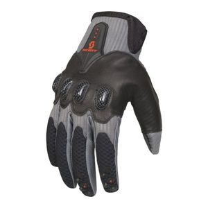 Scott Assault Motocross Gloves White Grey Black