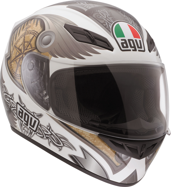Agv K-4 Evo Multi Explorer full-face helmet white
