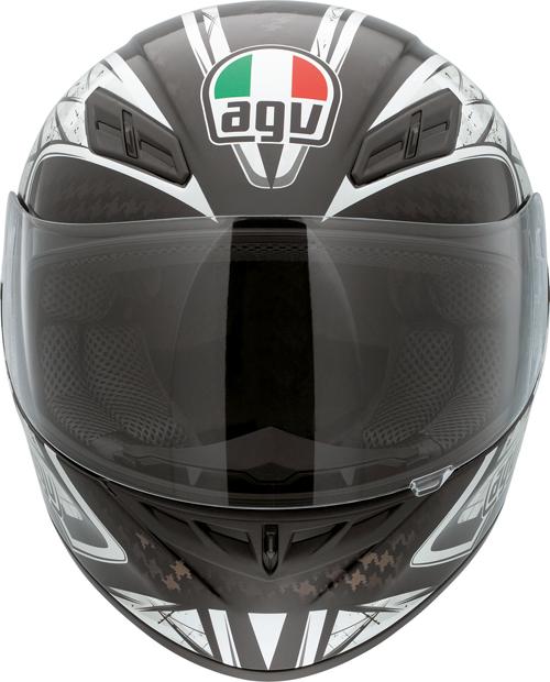 Casco moto Agv K-4 Evo Multi Sliver nero-gunmetal