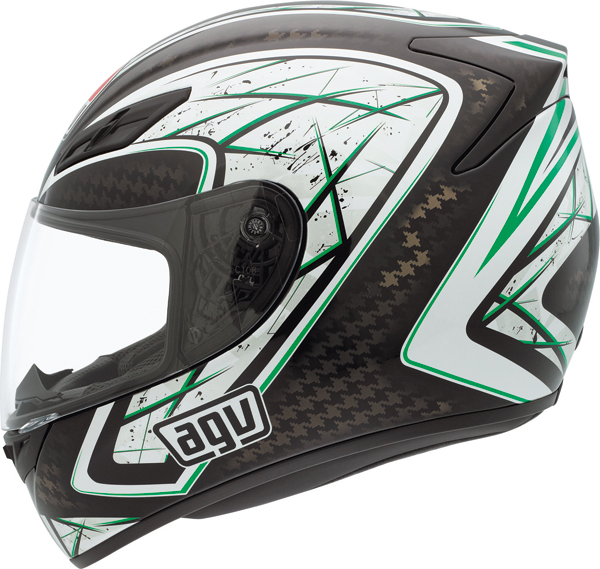 Agv K-4 Evo Multi Sliver full-face helmet black-green