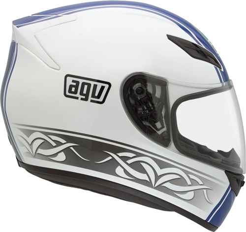 Agv K-4 Evo Multi Roadster full-face helmet white-blue