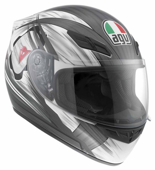 Agv K-4 Evo Multi Hang-On full-face helmet white-gunmetal