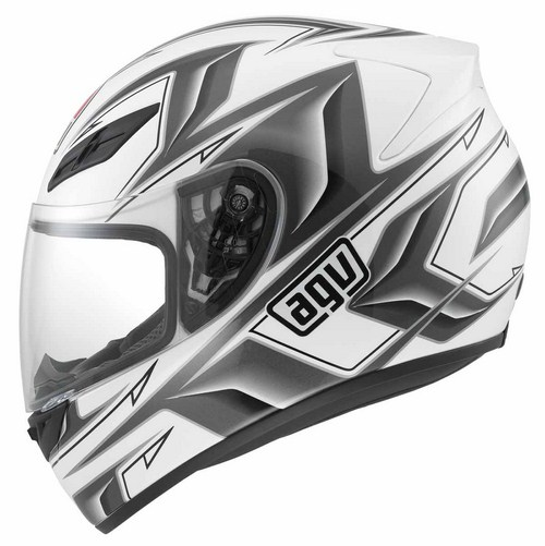 Agv K-4 Evo Multi Arrow full-face helmet white-gunmetal