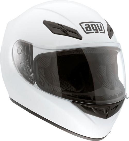 Casco moto Agv K-4 Evo Mono bianco