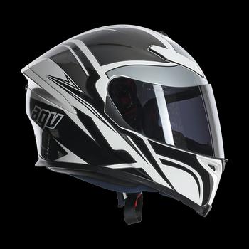 AGV K5 Roadracer full face helmet White Gunmetal Black
