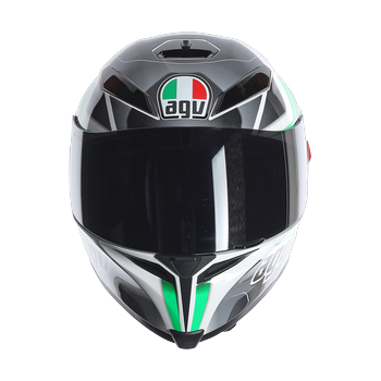 AGV K5 Transformer full face helmet Black White GREEN