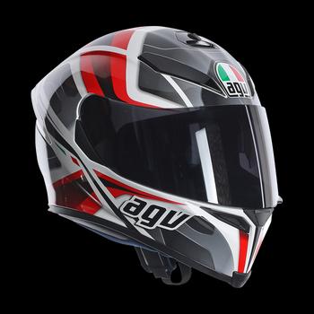 AGV K5 Transformer full face helmet White Black RED