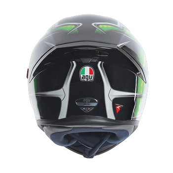 AGV K5 Hurricane full face helmet Green Black White