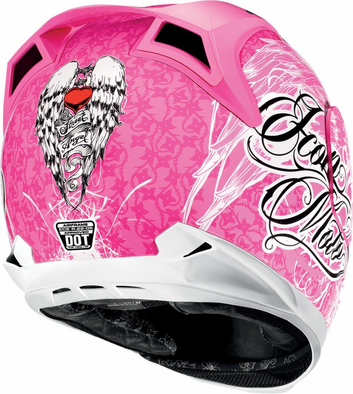 Casco integrale Icon Airframe Street Angel Rosa