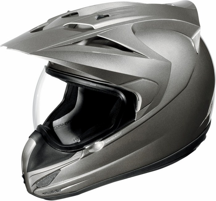 Icon Variant Helmet Full Gloss Silver