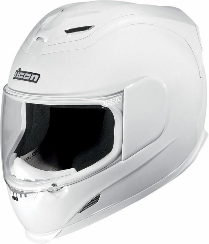 Icon Airframe Full Face Helmet Gloss White