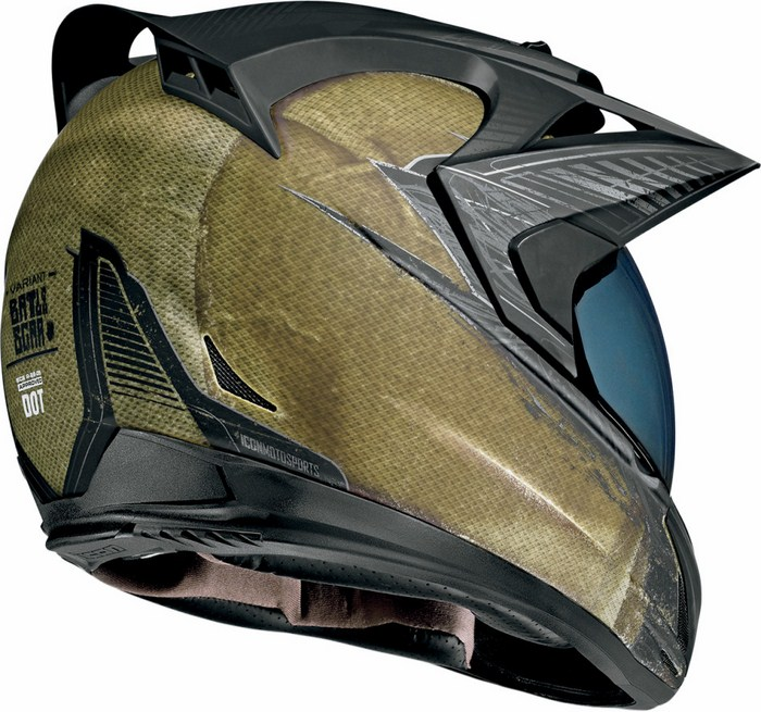 Icon Variant Helmet Full battlescar Green