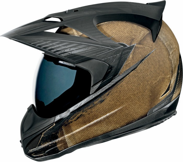 Icon Variant Helmet Full battlescar Brown
