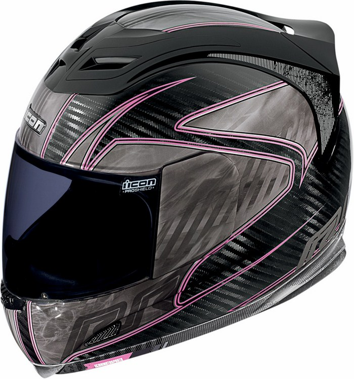 Full Face Helmet Icon Airframe Carbon RR Rosa