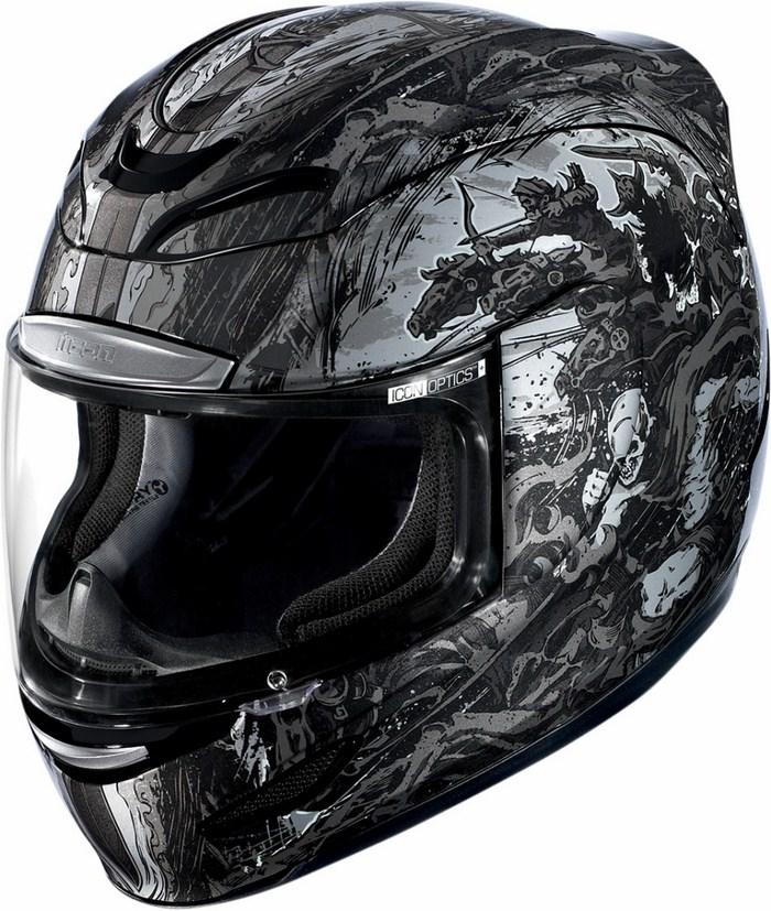 Full Face Helmet Icon Airmada 4 Horsemen