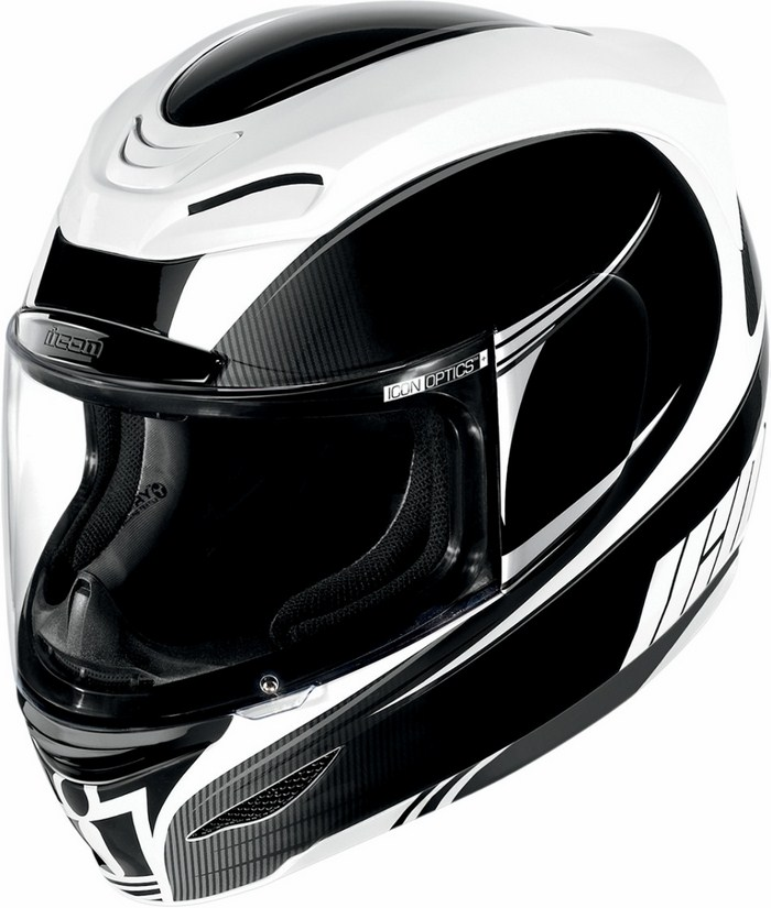 Casco integrale Icon Airmada Salient Nero