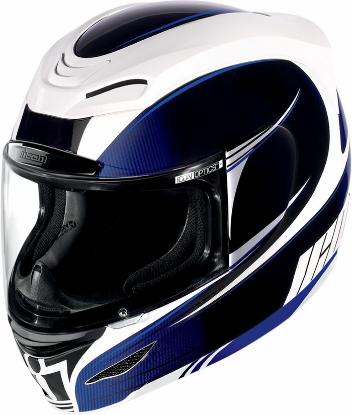 Casco integrale Icon Airmada Salient Blu