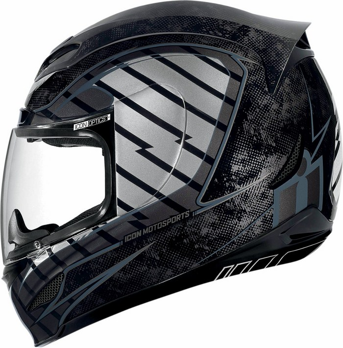 Casco integrale Icon Airmada Volare Nero