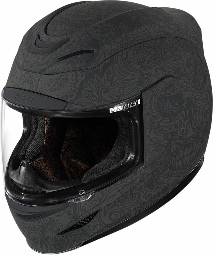 Full Face Helmet Icon Airmada Chantilly Black
