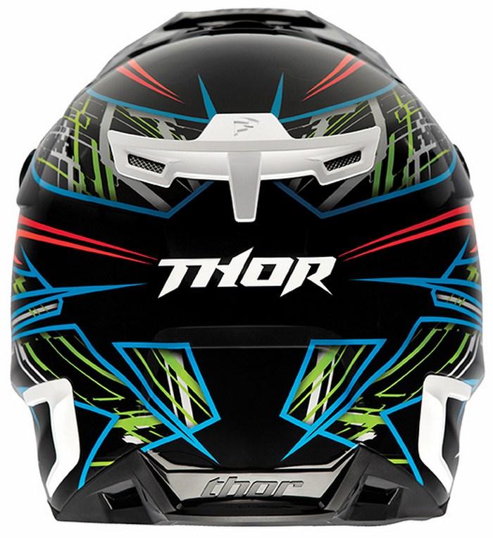 Thor Verge Boxed  enduro helmet black