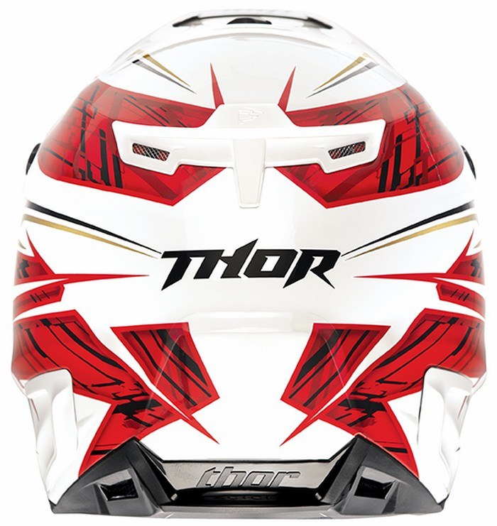 Casco Cross Thor Verge Boxed rosso