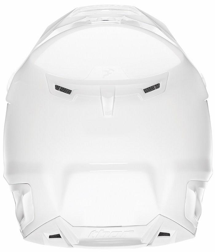 Thor Verge Solids enduro helmet white