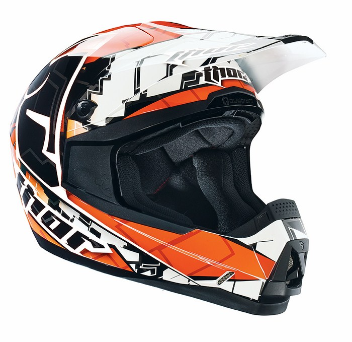 Thor Quadrant Fragment enduro helmet orange