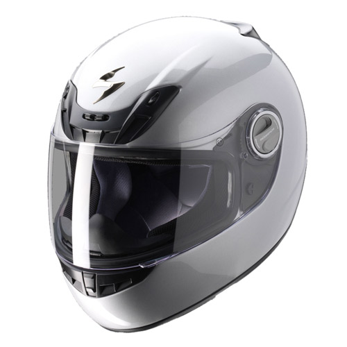 Casco integrale Scorpion Exo 400 Argento