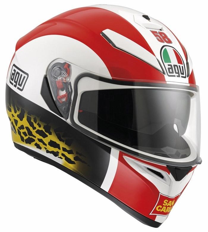 Casco moto Agv K-3 SV Replica Simoncelli