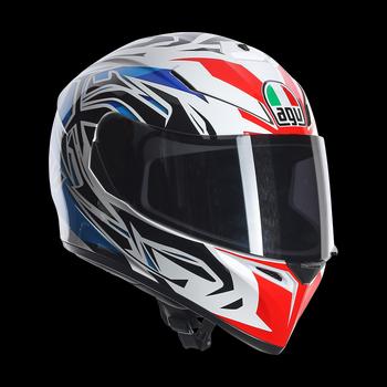 Agv K-3 SV Rookie full face helmet blue red