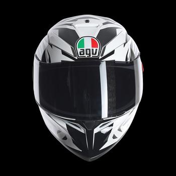 Agv K-3 SV rookie full face helmet white gunmetal black