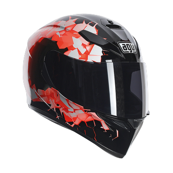 Agv K-3 SV fullbomb full face helmet Orange