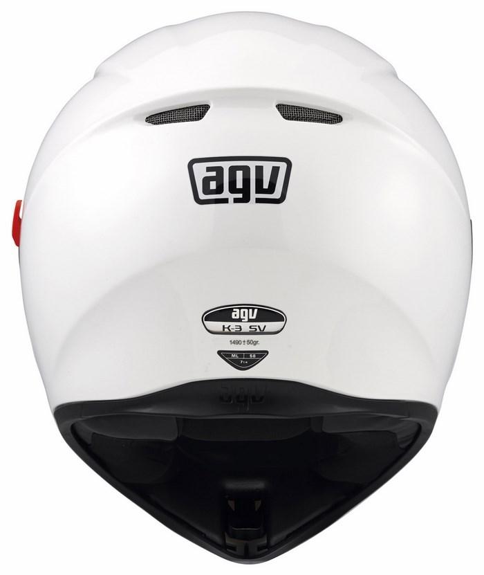 Casco moto Agv K-3 SV Mono bianco