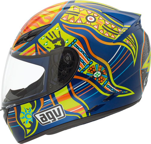 Agv K-3 Top 5 Continents full-face helmet