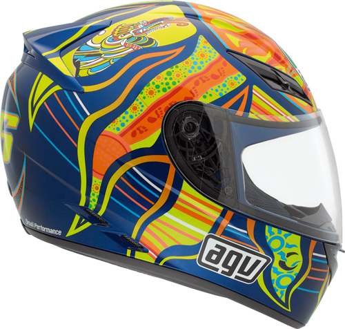 Casco moto Agv K-3 Top 5 Continents