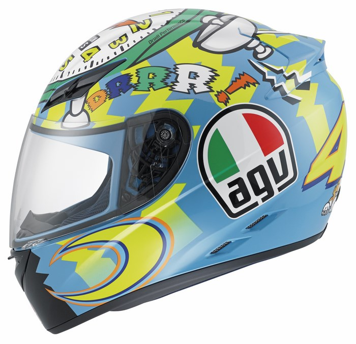 Casco moto Agv K-3 Top Wake Up