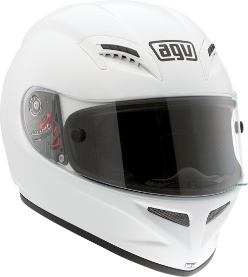 Agv Grid Mono full-face helmet white