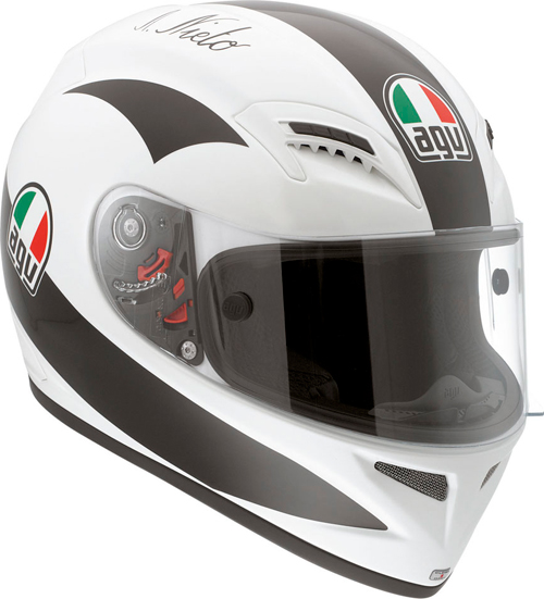 Casco moto Agv Grid Replica Angel Nieto