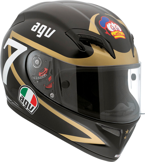 Casco moto Agv Grid Replica Barry Sheene