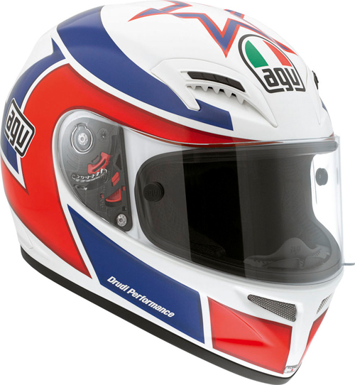 Agv Grid Replica Marco Lucchinelli fullface helmet