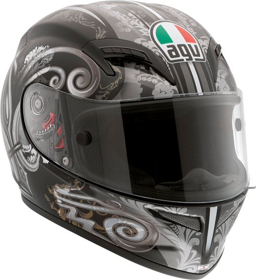 Agv Grid Multi Stigma full-face helmet black-gunmetal