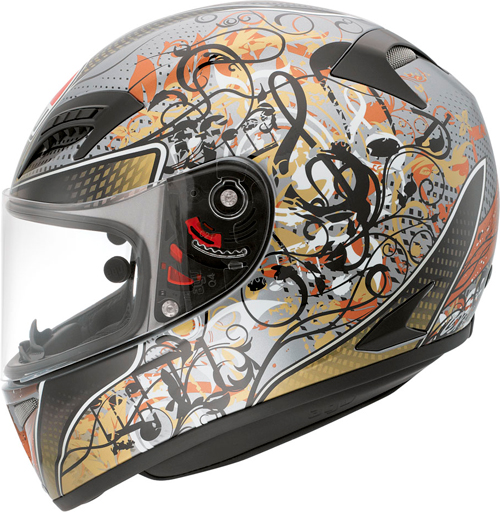 Agv Grid Multi Violin Key full-face helmet