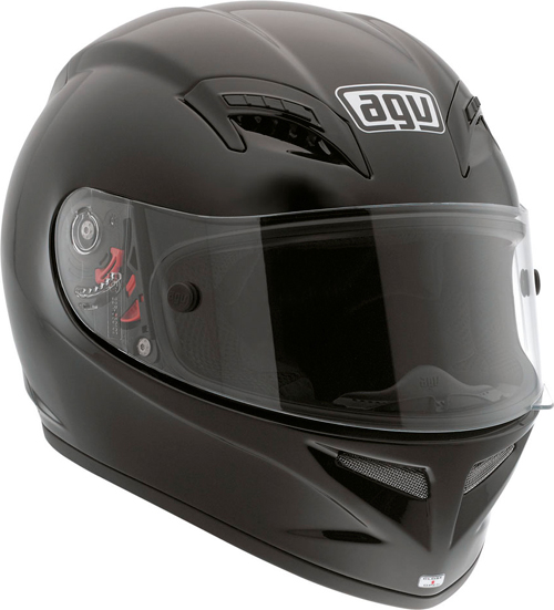 Agv Grid Mono full-face helmet black