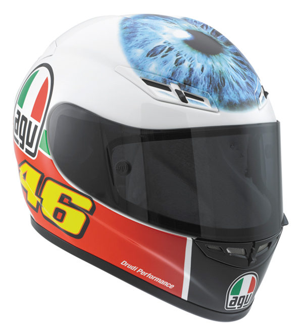 Agv GP-Tech Limited Edition Valentino's Eye fullface helmet