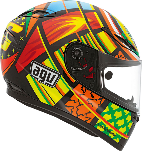 Agv Gp-Tech Top Elements full-face helmet