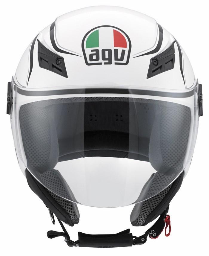 Agv City Blade Multi Tab helmet white black