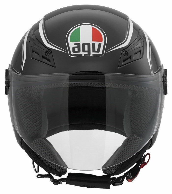 Agv City Blade Multi Tab helmet black white